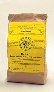 Budswel Dry 12 lb. Box Organic Guano CA by Super Bat (Budswel & Super Tea)