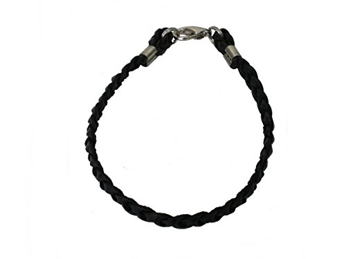 Braided Leather Womens Bracelet Anklet product image