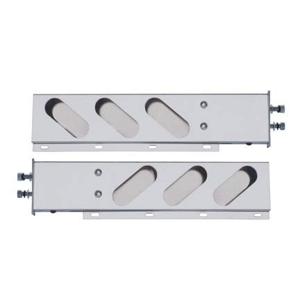 ZXLY Oval 3HOLES Light Holder with Spring Stainless Steel 2'' by ZXLY (Image #1)