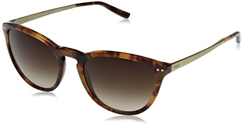 Polo Ralph Lauren Women's Acetate Woman Wayfarer Sunglasses, Shiny Jerry Tortoise, 55 - 2016 Trendy Glasses Womens