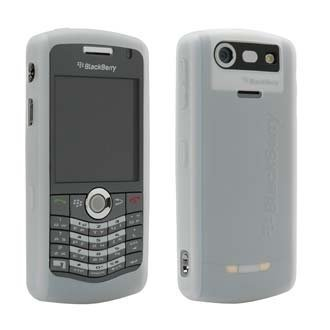Original OEM Blackberry Pearl 8130 Clear Silicone Skin Case Cover ()