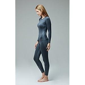 TM-XUP33-ZCC_Medium Tesla Women's Thermal WinterGear Compression Baselayer Pants Leggings Tights XUP33