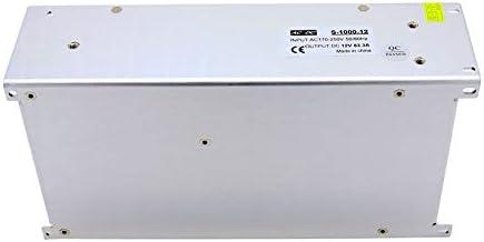 Alimentatore Switching 12V 10A 15A 20A 30A 40A 50A 60A 100W 120W 150W 200W 240W 350W 500W 600W 720W 800W 1000W Per Luci A Led - Bianco