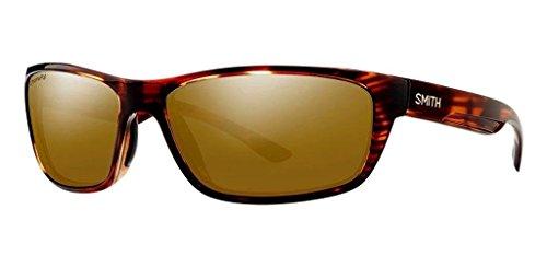 Smith Ridgewell ChromaPop+ Polarized Sunglasses, Tortoise, Bronze Mirror - Glasses Smith Mens