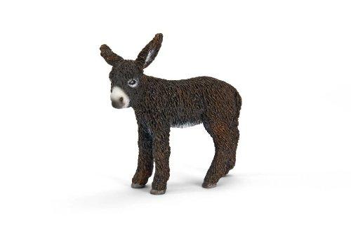 Schleich Poitou Donkey Foal Toy Figure