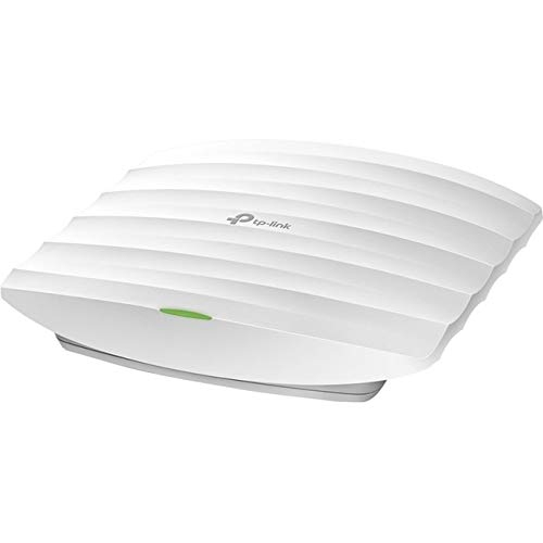 TP-Link EAP245 V3 Wireless AC1750 MU-MIMO Gigabit Ceiling Mount Access Point, seamless roaming, Supports 802.3af PoE and Passive PoE(Injector Included)