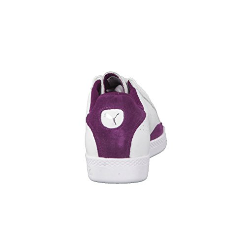 Puma Damen Match La Classica Sneaker, Weiß Puma Bianco-viola Scuro