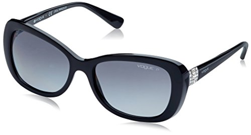 Vogue VO2943SB Sunglasses W44/T3-55 - Black Frame, Polar Grey - Men Sunglasses Vogue