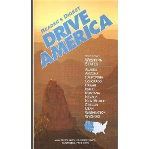 Drive America  Road Atlas Western States  Also Includes Alaska And Hawaii  With 32 City Maps  15 Airport Maps  14 National Park Maps