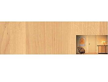Extremely Klebefolie für Türen Holzdekor- Möbelfolie ERLE hell 220 x 90 cm  KC83
