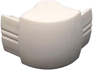 Desconocido Repuesto Angular Blanco para Cabina de Ducha Titan ...