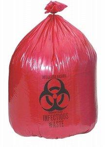 Medline High Density Red / Biohazard Liners Bag  24