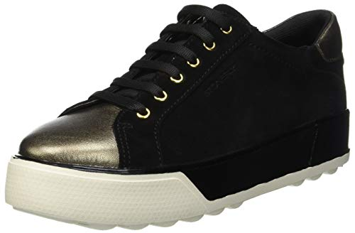 Derby Para De Zapatos Velour nero 000 Mujer Cordones Negro Stonefly 3 Stella wxFqO7naqR
