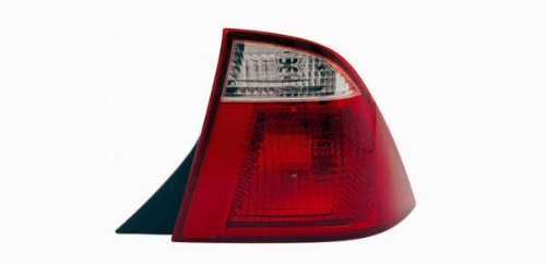 2005-2007 Compatible with Ford FOCUS BLACK HOUSING AUTOMOTIVE NEW REPLACEMENT TAIL LIGHT RIGHT HAND TYC 11-6093-01