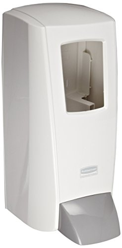 Rubbermaid Commercial ProRx Industrial Wall-Mounted Skin Care Product Dispenser, 2-Liter, White (1780885)