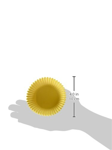 Oasis Supply Baking Cups, Jumbo, 100-Count, Yellow by Oasis Supply (Image #3)
