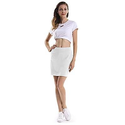 Gooket Women's Athletic Golf Skirt Tennis Skort Pleated with Pockets: Clothing