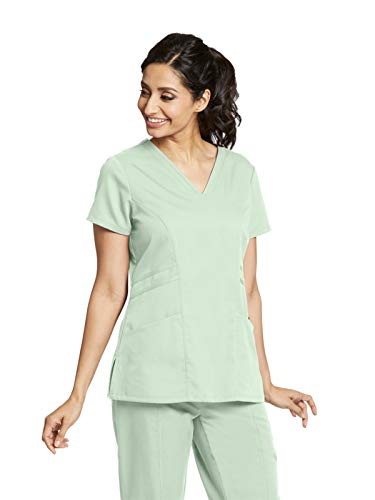 Womens Pistachio - Grey's Anatomy 41452 V-Neck Top Pistachio S