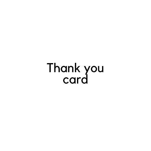 Thank You Cards - 36 Cards in 8 Designs