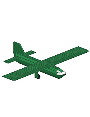 Lego - Airspeed Horsa Military Glider - TDS Models