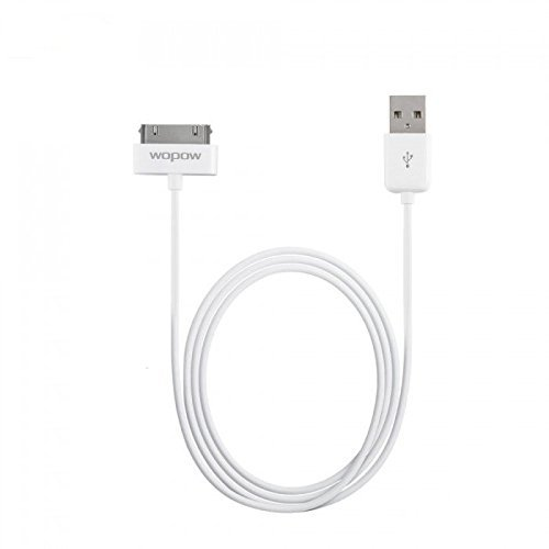 Fidelis (White) wopow Iphone Data USB Charging Cable for Iphone 4 & 4S – 1 Year Warranty