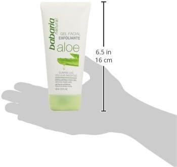 Babaria Aloe Vera - Gel exfoliante facial, 150 ml