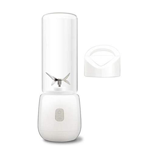 450Ml Portable Blender Multi-Function Juicer 6 Blade Mini Juice Cup Household Food Soymilk Fruit Mixer Baby Food Squeezer,White
