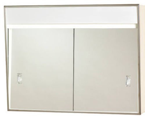 Zenith 701L Sliding Door Medicine Cabinet w/ Built In Incandescent Light
