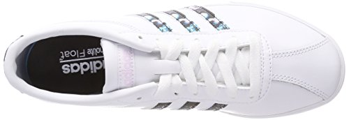 Weiß Ftwbla Fitnessschuhe Damen 000 Courtset adidas Ftwbla Ftwbla qXtZFw
