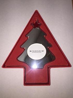 newbridge silverware christmas tree decoration silver christmas tree insert picture