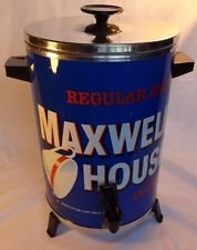 Vintage Regular Grind Maxwell House Coffee Good To The Last Drop Party Percolator