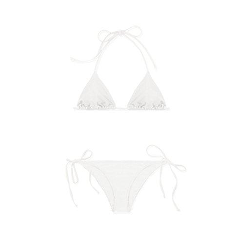 cheng Rétro Acier Sexy Couleur Pas Simple Été Ensemble Triangle 2018 Blanc Sx Anneau Bikini PnyN0Omv8w