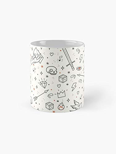 Home Made Tattoos Rule 11oz Mug - The best gift for family and friends. (Best Homemade Bong Designs)