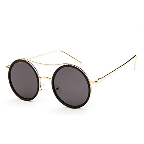 MosierBizne New Fashion Colorful Retro Round Frame Sunglasses For Men And Women - Polarizing Personality Of Definition