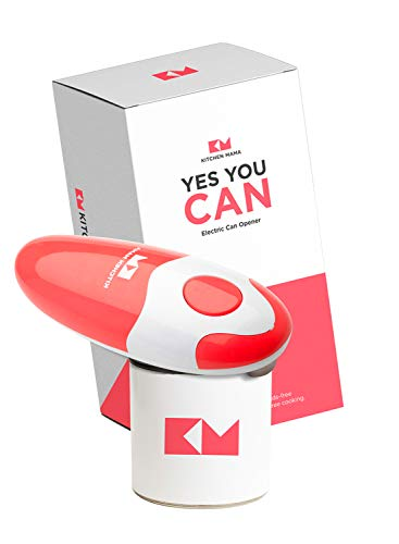 Kitchen Mama Electric Can Opener: Open Your Cans with A