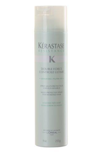 Kerastase Double Force Extra Strength Hold Controle Ultime Spray 9 oz by Kerastase [Beauty] by Kerastase