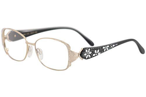 Caviar Eyeglasses M5628 M/5628 C21 Pale Gold/Black Full Rim Optical Frame 54mm