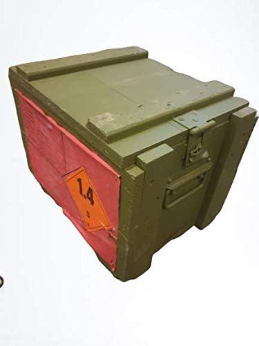 Kistenkolli 4C2 - Caja de munición de madera para el tesoro ...