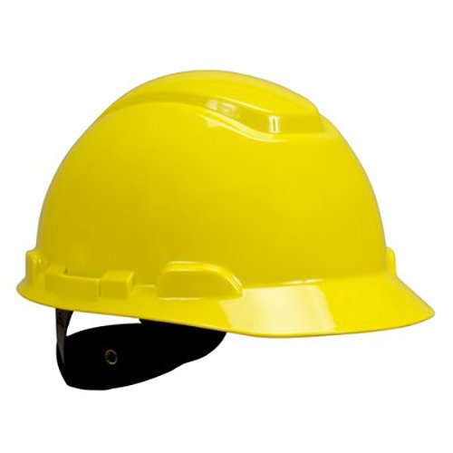 3M H-702R-UV Series H-700 Hard Hat with Uvicator Sensor, Yellow (Pack of 20)