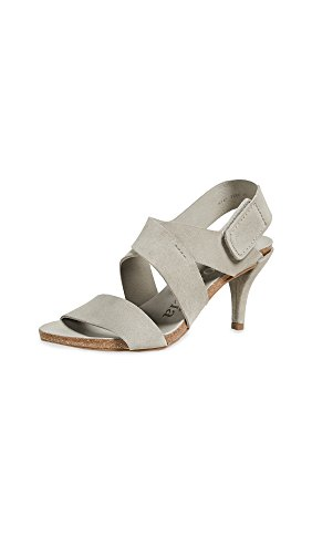 Pedro Garcia Women's Willow Low Heel Sandals, Pumice, 37.5 EU (7.5 B(M) US Women) by Pedro Garcia