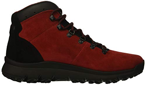 Cuir World Hommes En Bottes Daim Red Hiker Timberland Suede Pour Noir Et qfIHn