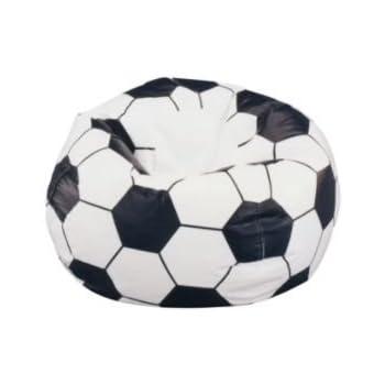 Soccer Ball Sports Bean Bag Chair Cover