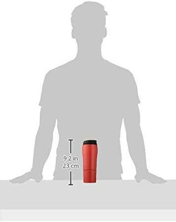 0.47 Litre Red Mighty Mug Go The Travel Mug That Wont Fall Over