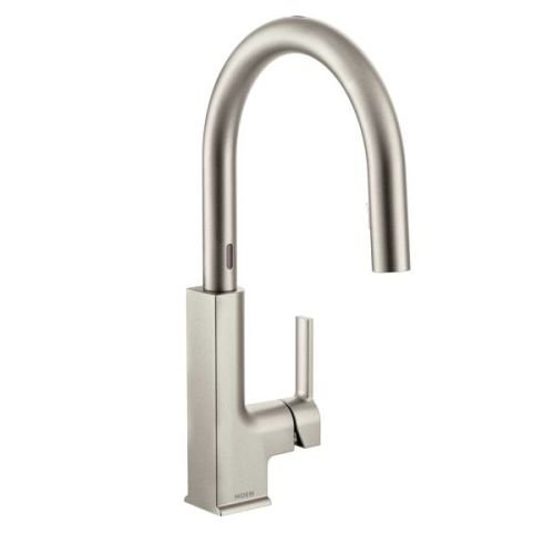 Moen S72308ESRS STo with MotionSense Touchless One-Handle Hi