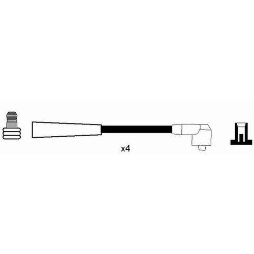 NGK 2584 Juego de cables de encendido