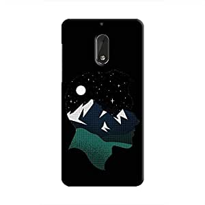 Cover It Up - Lost in Head Nokia 6 Hard Case
