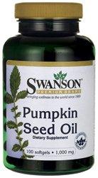 Swanson Pumpkin Seed Oil 1,000 mg 100 Sgels