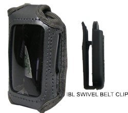 Car Alarm Case Grey Leather (fits Viper 5901, Python 991 2-way and Clarion SAA477U) #ALARMC7-GY-NS