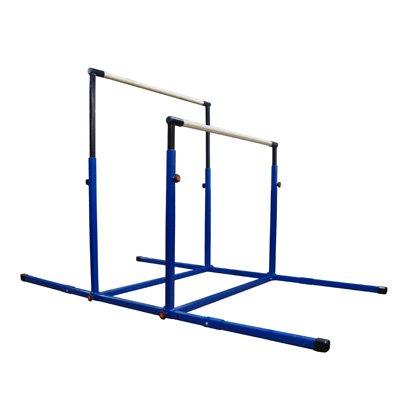 "Nimble Sports ""3Play"" Double Horizontal Bars – Uneven Bars – Parallel Bars"