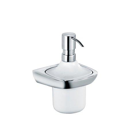 Kludi 5397605 aMBA Liquid Soap Dispenser Porcelain, Chrome